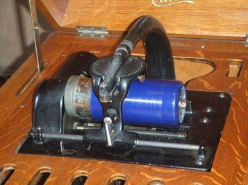 "Amberola or ""Edison cylinder player"", 1915."