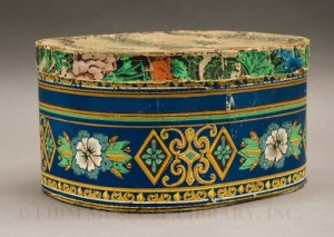 FIDM Museum- Easter Hat Box, 1852.