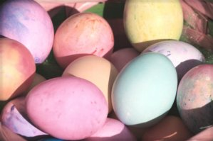Vintage Easter Eggs.