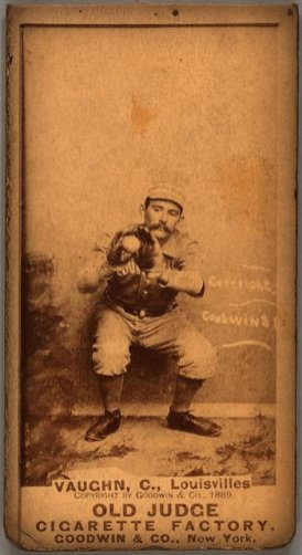 Farmer Vaughn, Louisville Colonels, 1887.