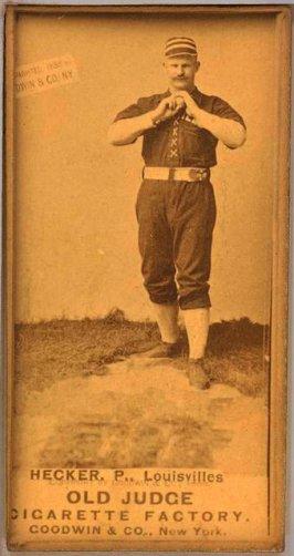 Guy Hecker, Louisville Colonels, 1887.