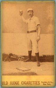 Doc Bushong, Brooklyn Trolley-Dodgers, 1886.