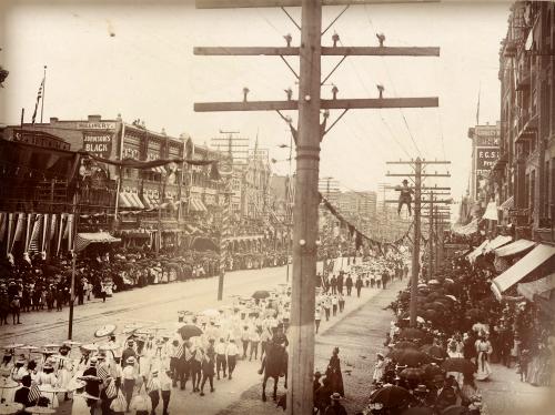 Pioneer Parade, 1897.