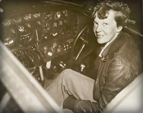 Amelia Earhart, 1937.