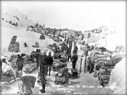 Chikoot Border, 1898.