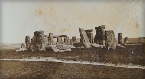 Stonehenge, 1877. Photo: Philip Rupert Acott.