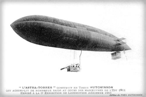 Astra Torres Airship, 1911.
