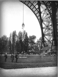 Eiffel Tower, Air-Resistance Tests.