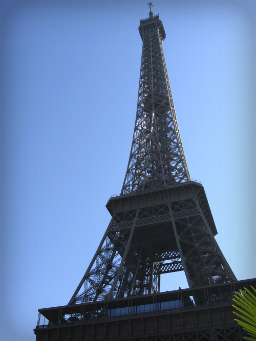 Eiffel Tower. Photo by Bettina.