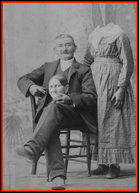 Victorian Era Headless Photography. George Eastman House Collection.