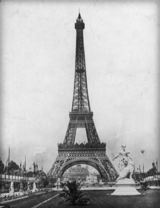 Eiffel Tower, 1889.