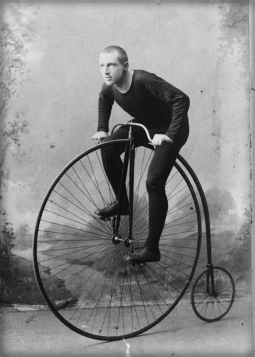 Penny-farthing Bicycle, 1880s.