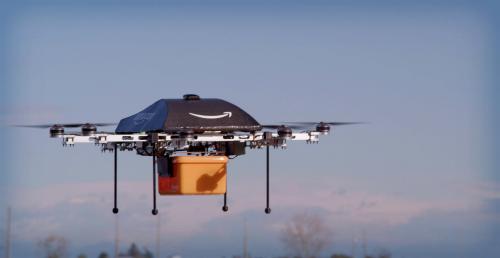 Amazon Prime Air Drone, 2015.