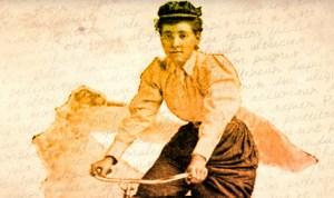 """Annie """"Londonderry"""" Kopchovsky."""