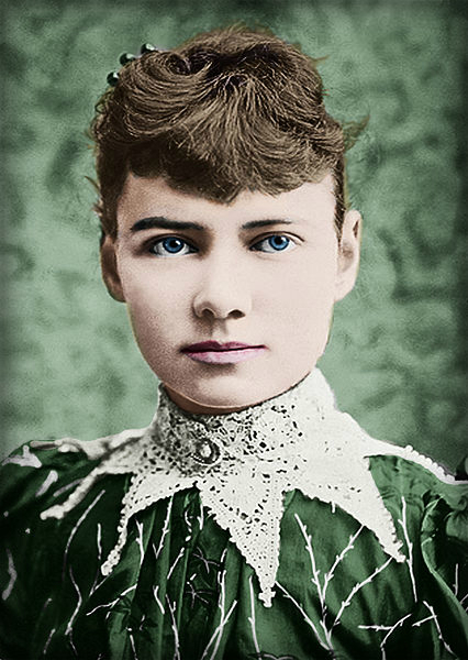 Nellie Bly. Photo: Wikipedia.