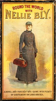 Nellie Bly Around The World Game.