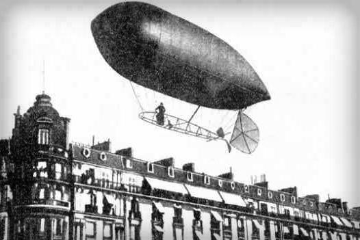 Santos-Dumont, No. 9. Photo: My Airships by Alberto Santos-Dumont.