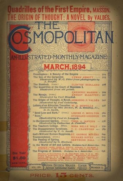 The Cosmopolitan Magazine, March 1894.