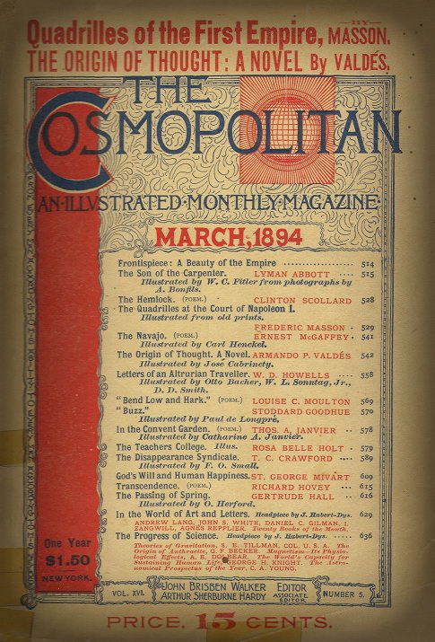 The Cosmopolitan Magazine, March 1894.