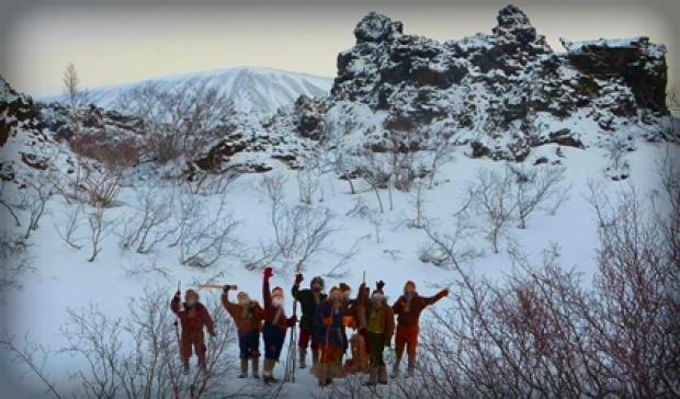 Icelandic Yule Lads. Photo: iceland.is.