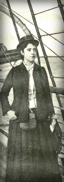 Elizabeth Bisland Races Nellie Bly Around The World In 80 Days, 1889-90