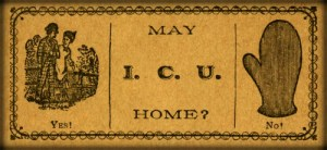 Victorian Era Flirtation Card. Image: Wikipedia.