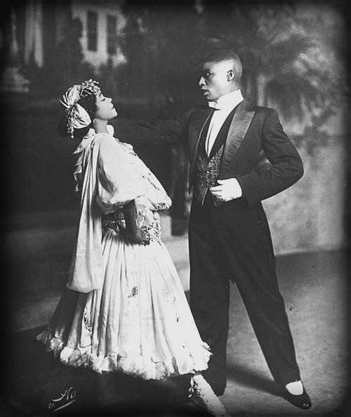 Aida Overton Walker Performs With Husband, George Walker.