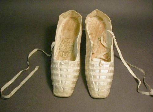 Queen Victoria's Wedding Shoes, Northampton Museum & Art.