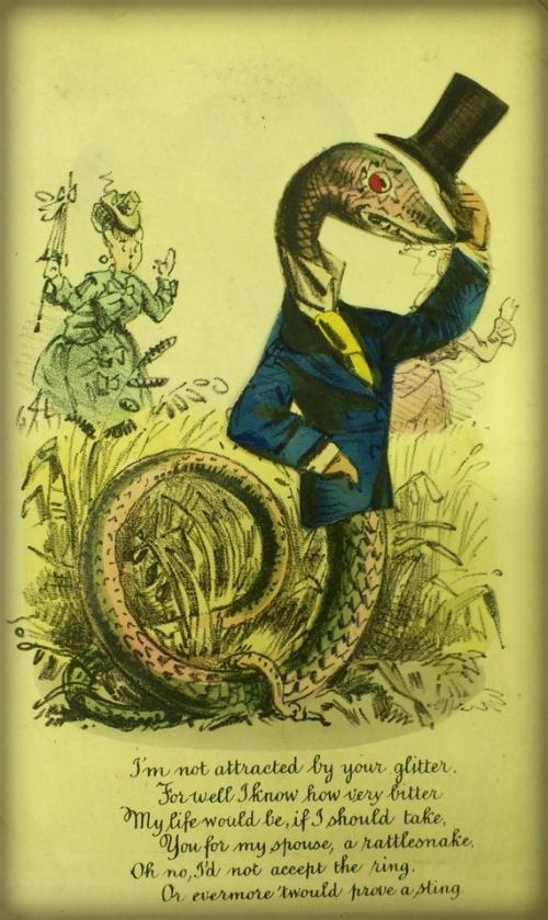 Victorian Era Vinegar Valentine.