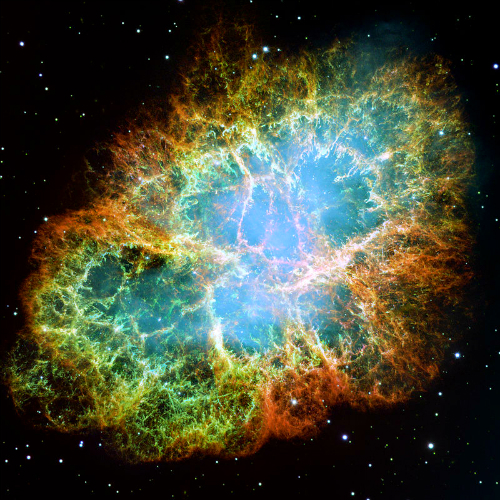 Crab Nebula. Image: JPL/NASA.