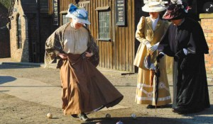 Victorian Era Easter Eggs: Dancing at Blists Hill Victorian Town. Photo: The Guardian.