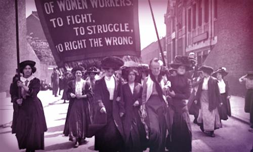Suffragettes.