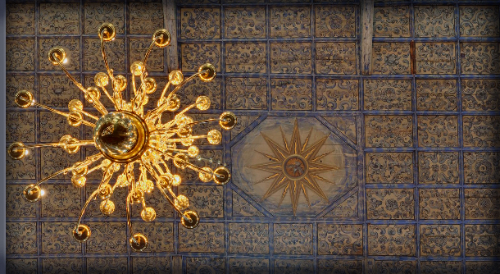 Jawor Church, Ceiling. Jan Zieba Panoramic Photography.