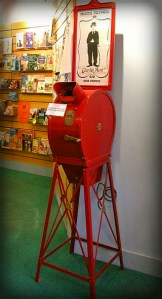 Mutoscope, What The Butler Saw Machine. Image: Linda Spashett Storye_book.