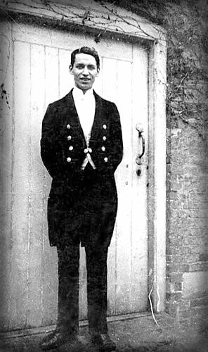 Victorian Era Butler.