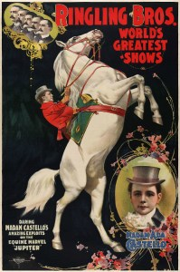 Ringling Brothers, World's Greatest Shows.