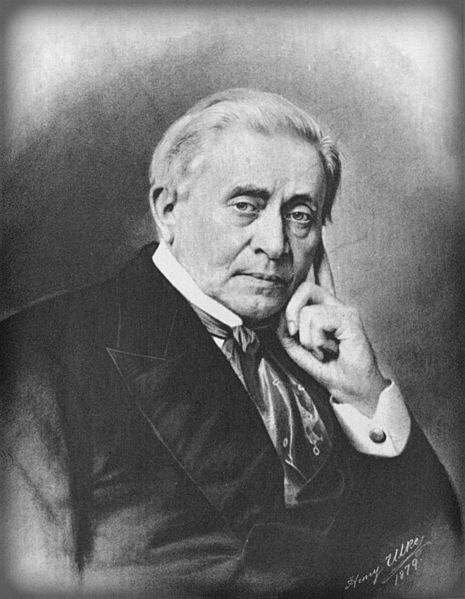 Joseph Henry, Scientist and Director of Smithsonian Institute, 1879.