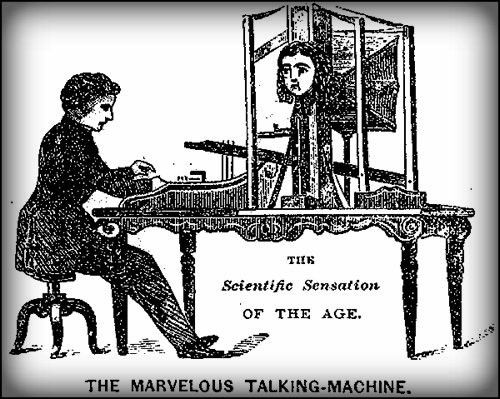 Joseph Faber's Talking Machine, Euphonia.