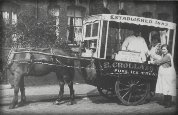 Crolla Ice Cream, 1882. Image: Colletta Family.