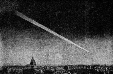 Great Comet, 1882. Image: Sir David Gill.