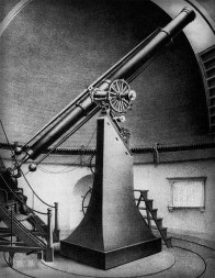 Harvard College Observatory: Great Refractor Telescope.