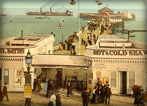 Clacton Pleasure Pier. Image: Library of Congress.