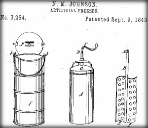 Nancy Johnson's Patent.