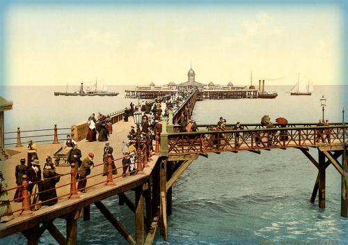 Margate Pleasure Pier, 1897.