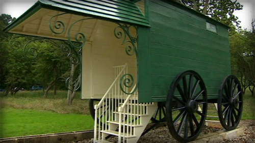 Queen Victoria's Bathing Machine, Osborne.