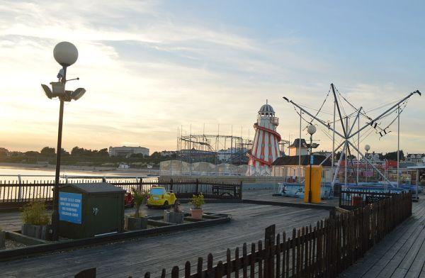 Clacton Pier. Image: Rwendland.