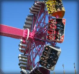 New Ferris Wheel, Ventura Fair, California, 2016. Image. B. Rose.