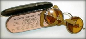 Cinder Goggles, 1917. Image: EyeGlassBoy.com.