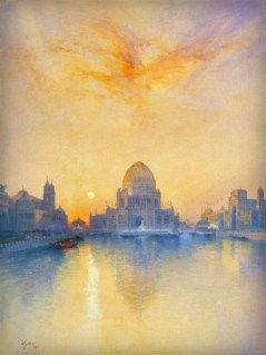 Chicago World's Fair by Thomas Moran, 1894. Image: Wikipedia.