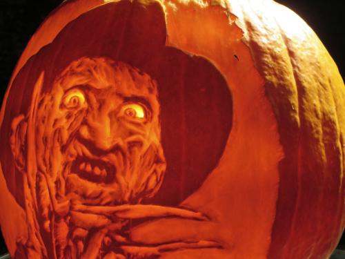 Jack-'o'lantern. Image: B. Rose.
